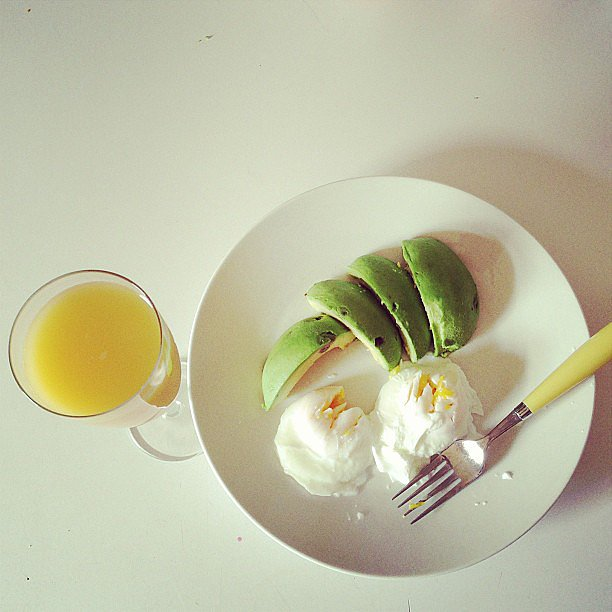 Poached Eggs With Avocado