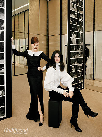 Julianne Moore and Leslie Fremar