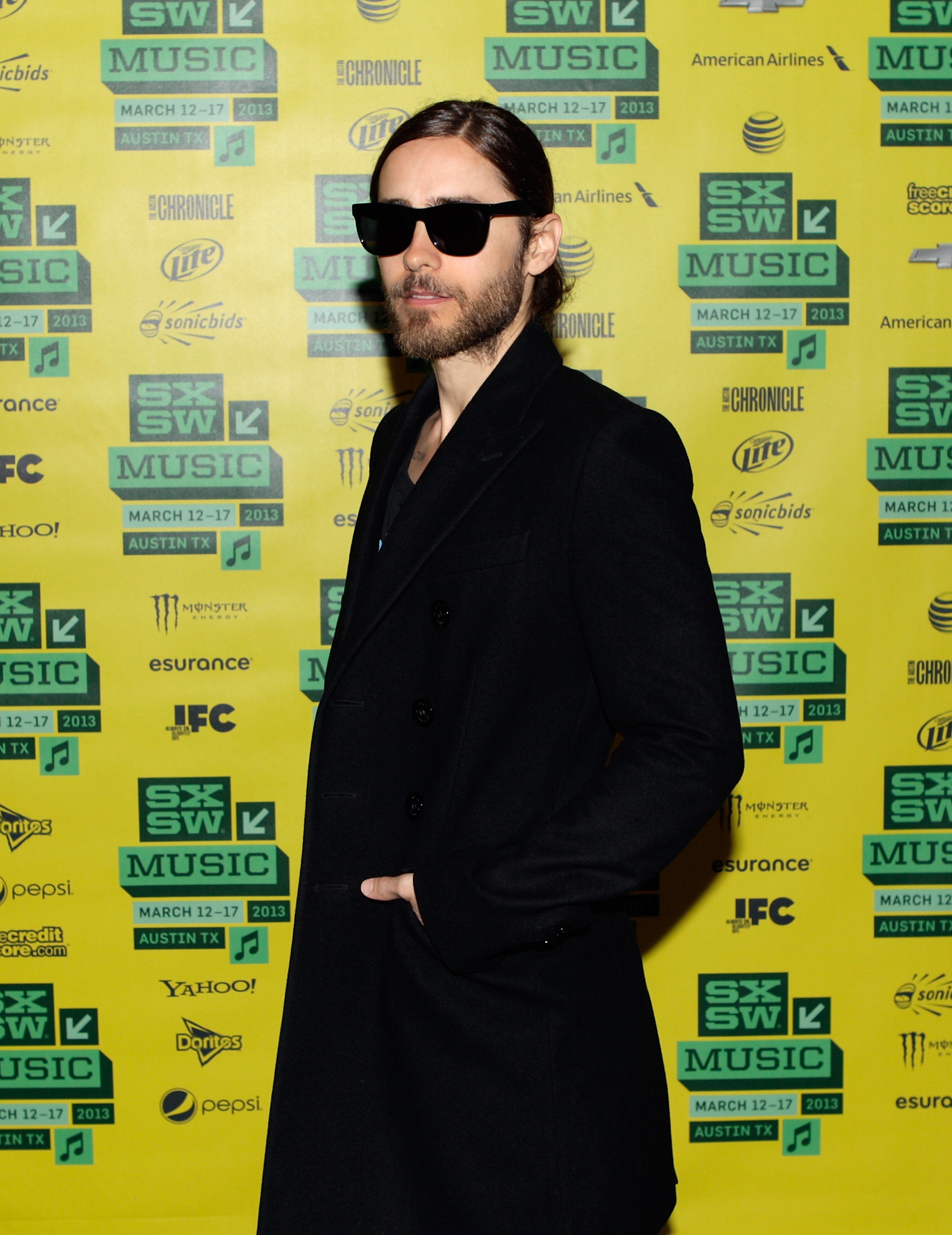 Jared Leto made an appearance at the festival.