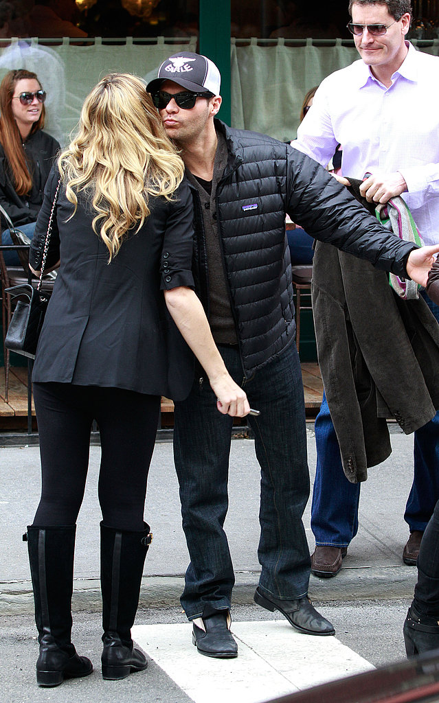 Ryan Seacrest kissed Julianne Hough during a March 2011 trip to NYC.