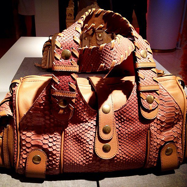 Chloé brought some of its most iconic styles back for its 60th anniversary. How amazing is this python bag?