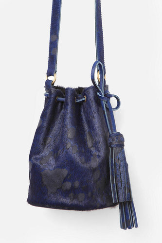 MK Totem Pony Hair Bucket Bag