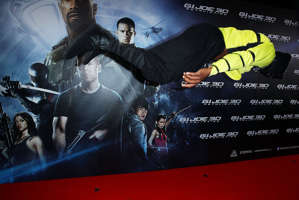 Dwayne Johnson Rocks Sydney at the G.I. Joe: Retaliation Premiere