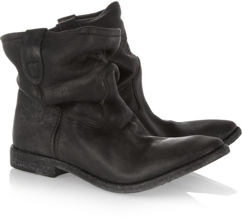 Isabel Marant The Jenny slouchy leather ankle boots