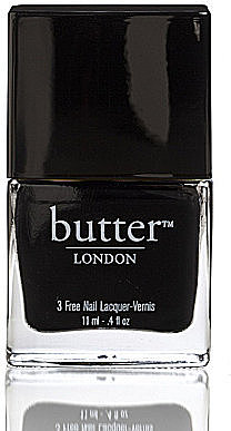 Butter LONDON 3 free Nail Lacquer Union Jack Black