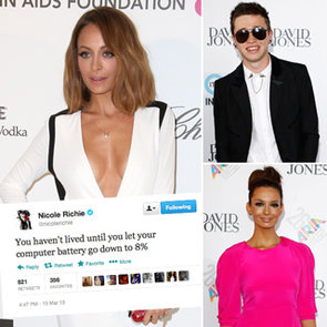 Top Celebrity Tweets: Nicole Richie, Reece Mastin, Ricki-Lee