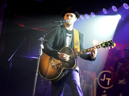 Justin Timberlake performed at a secret show at SXSW.