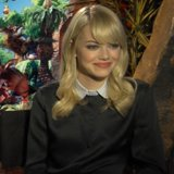 Emma Stone Interview About The Croods