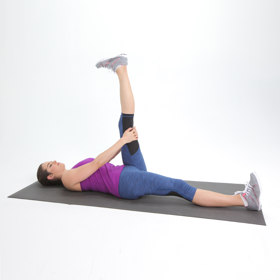 Reclined Hamstring Stretch