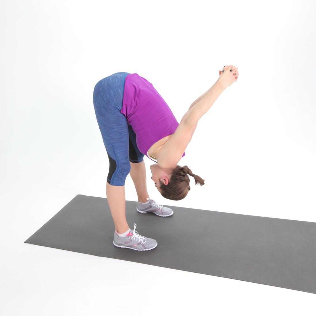 Tight Hamstring: Tipover Tuck Hamstring Stretch