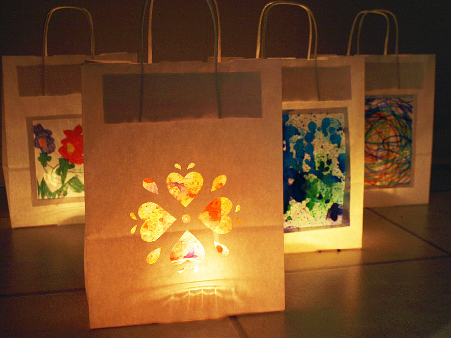 Light Up With Paper Lanterns