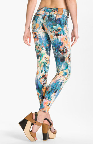 Dylan George Skinny Leg Jeans (Watercolor)