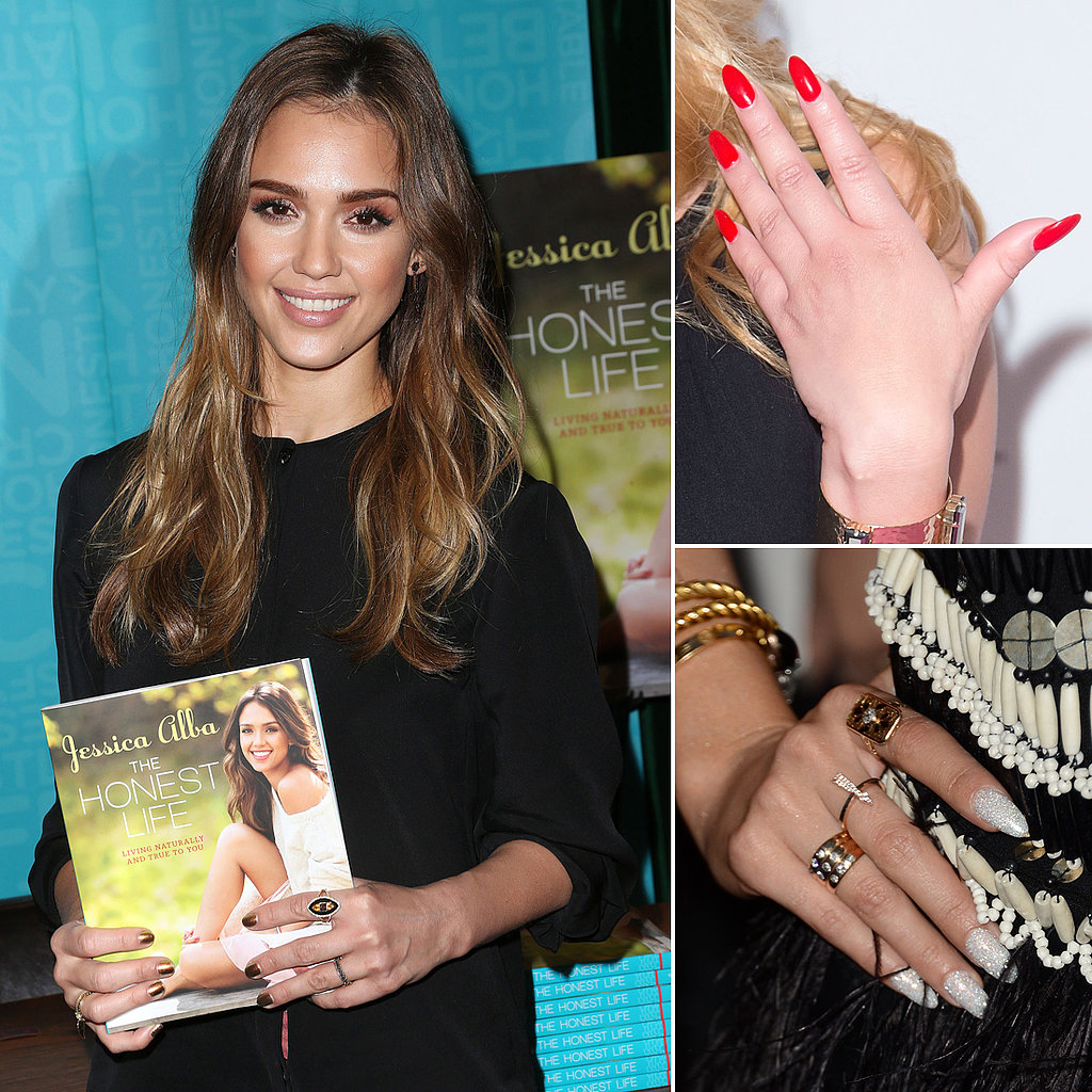 Zoom In on the Best Celebrity Manicures