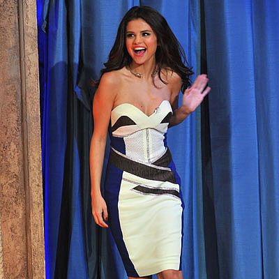 Selena Gomez on Late Night With Jimmy Fallon