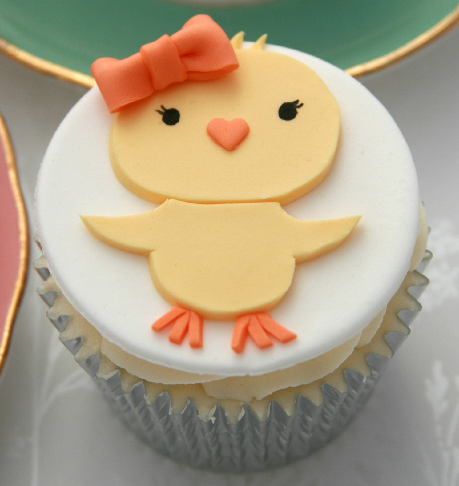Girlie Chick Cupcakes