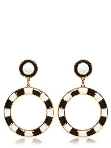 Brass Clip On Earrings