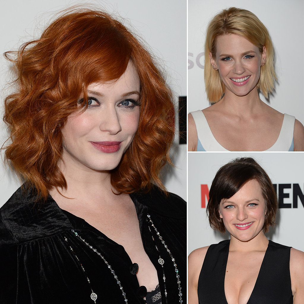 The Ladies of Mad Men Spice Up the Red Carpet Premiere
