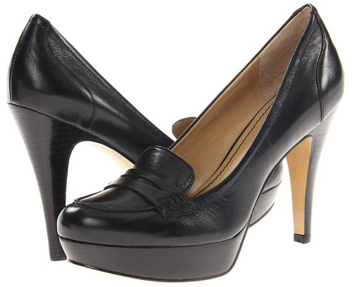 Nine West - 7Abalene (Black Leather) - Footwear
