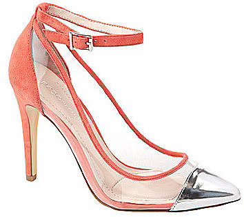 BCBGeneration Cynthia Ankle-Strap Pumps