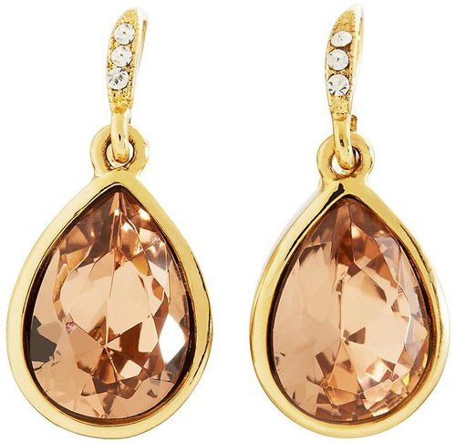 Goldwash Crystal Drop Earrings