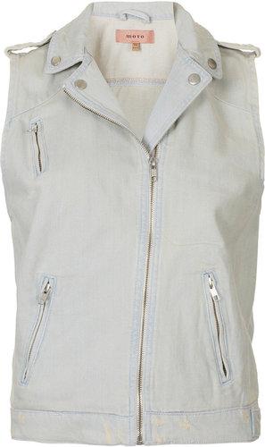 MOTO Premium Sleeveless Biker Jacket
