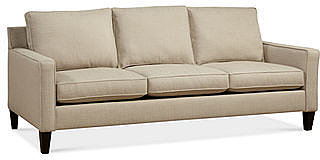 "Alanis Fabric Sofa, 81""W x 37""D x 34""H"