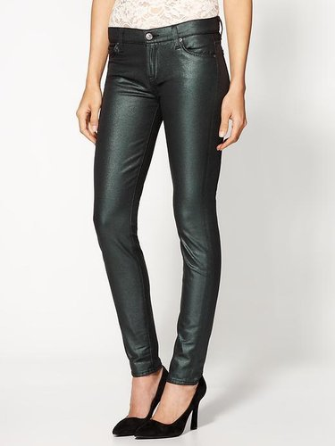 7 For All Mankind The Skinny CoatedJeans