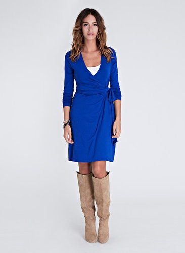 The Classic Wrap Dress