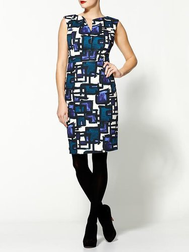 Milly Peggy Printed Dress