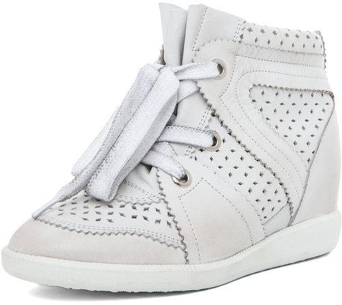 Isabel Marant Baya Sneaker in Craie