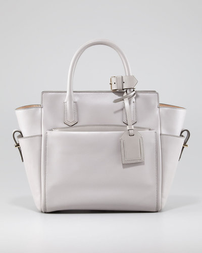 Reed Krakoff Atlantique Mini Tote Bag, Light Gray