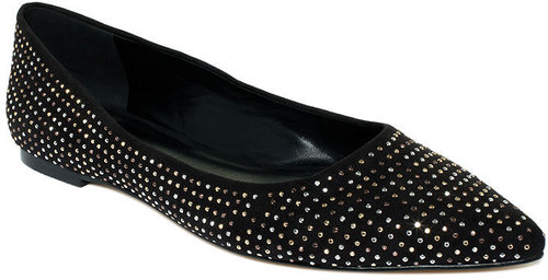 Truth or Dare by Madonna Shoes, Louisia Studded Flats