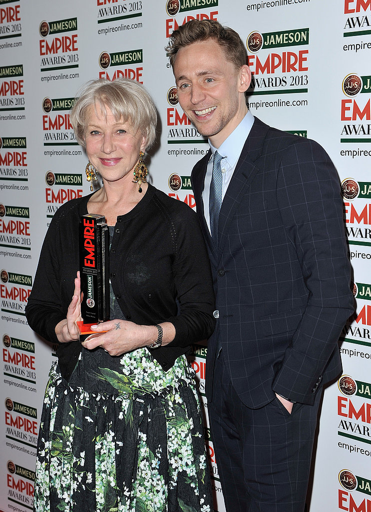 Helen Mirren and Tom Hiddleston