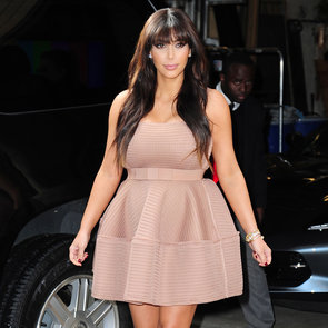 Pregnant Kim Kardashian Doing Press in NYC | Pictures