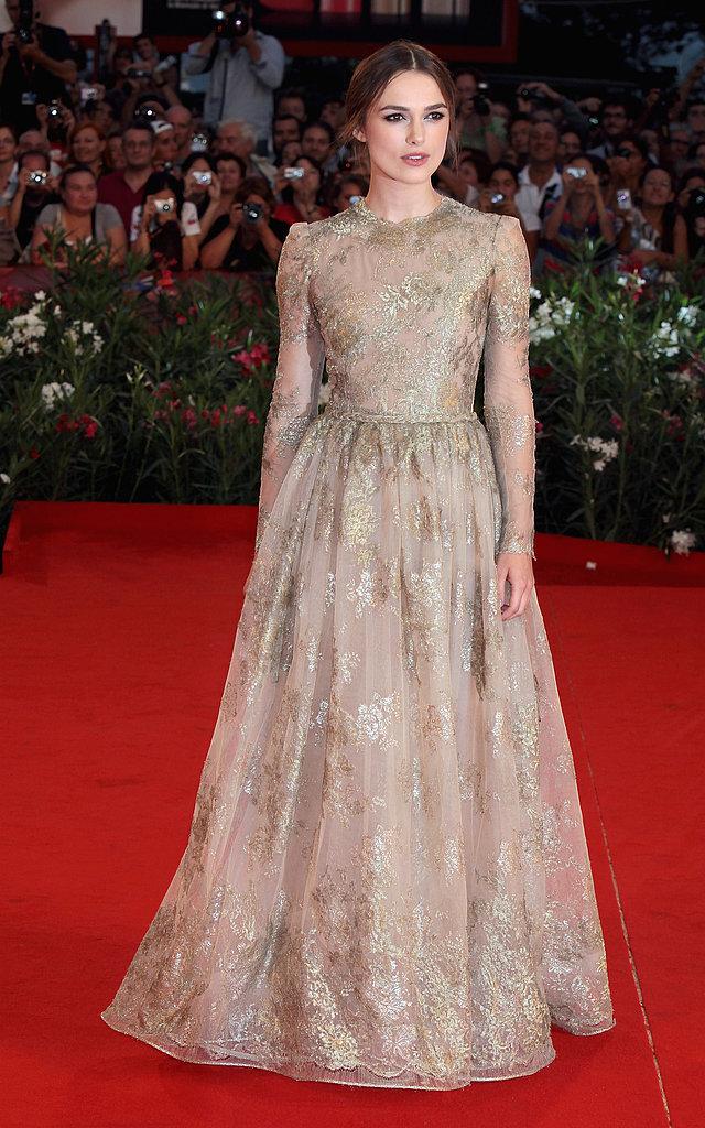 Keira Knightley at the 2011 Venice Film Festival