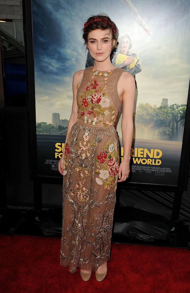 Keira Knightley at the 2012 LA Film Festival