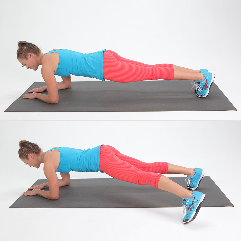 Core: Plank With Side Step