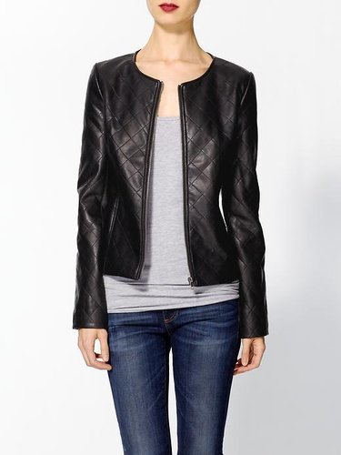 Tinley Road Quilted Vegan Leather Jacket