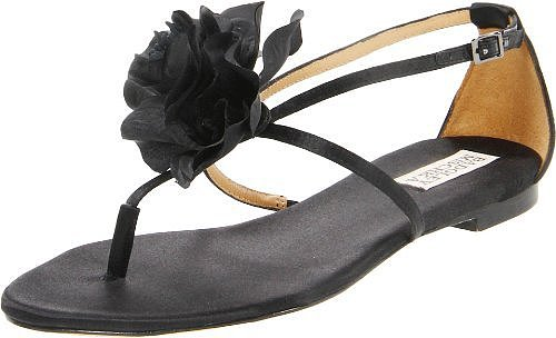 Badgley Mischka Women's Zowie Thong Sandal