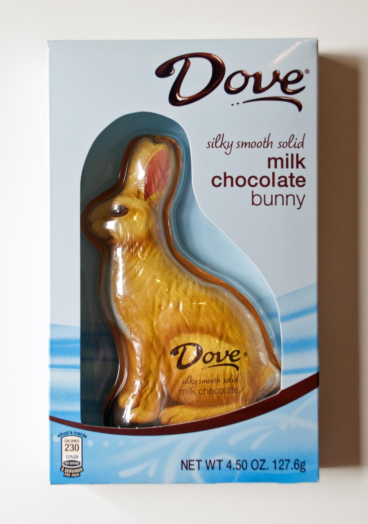 Dove Milk Chocolate Bunny