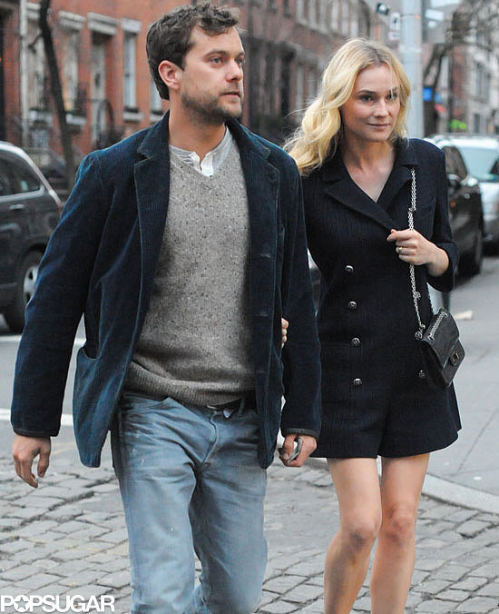 Diane Kruger and Joshua Jackson stepped out for a date night in NYC.
