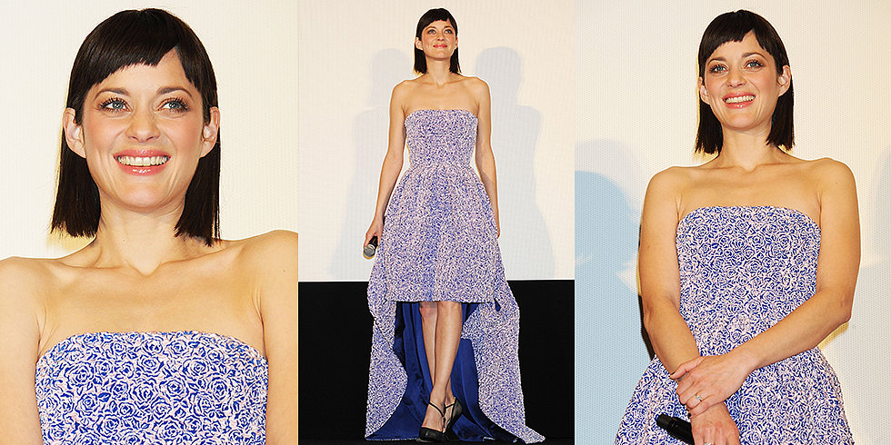 Marion Cotillard Goes With High-Low Christian Dior in Tokyo