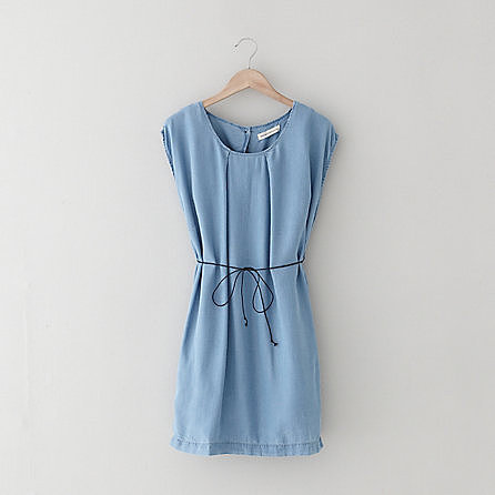 WON HUNDRED inky denim dress