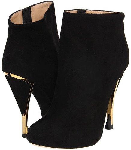 Diane Von Furstenberg - Lis (Black Suede) - Footwear