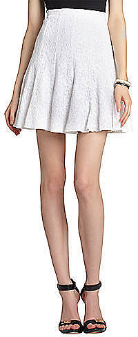 BCBGMAXAZRIA Quinnie Lace Skirt