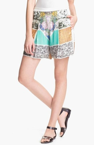 Clover Canyon 'Roadside' Sequin Shorts