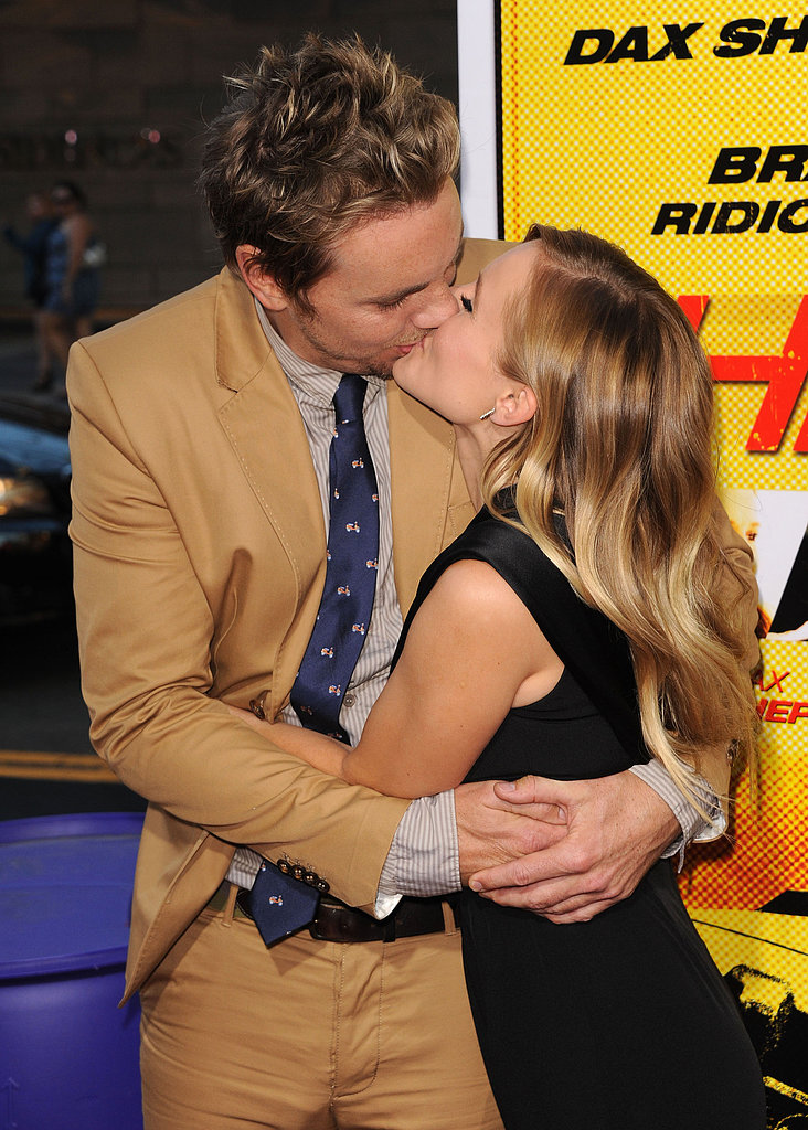 They couldn't keep their hands off each other at the August 2012 LA premiere of Hit and Run.