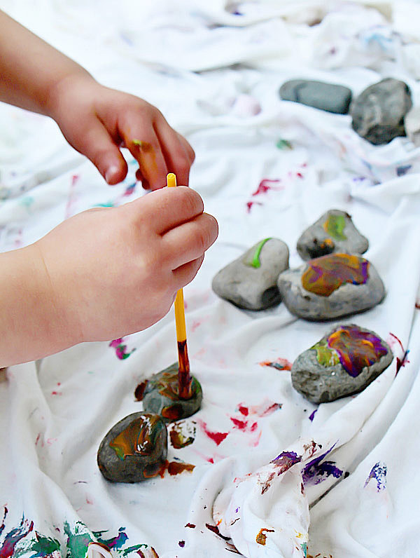Have a Rock-Painting Party