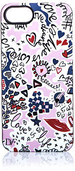 Diane Von Furstenberg Doodle love-print iPhone® case