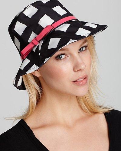 kate spade new york Printed Nylon Bucket Hat
